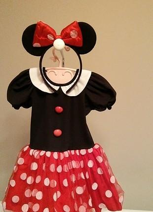 1 yaş Minnie kostümü