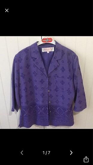 Hint işi işlemeli ceket