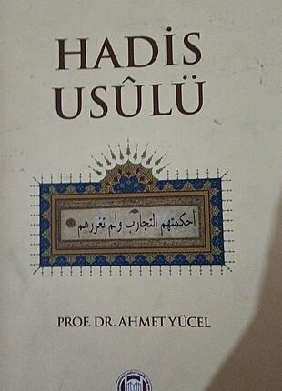 Hadis usulü Ahmet Yücel