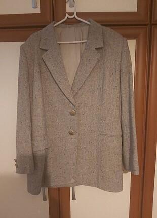 Hakiki yün ceket