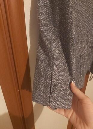 Mor kırçıllı ceket