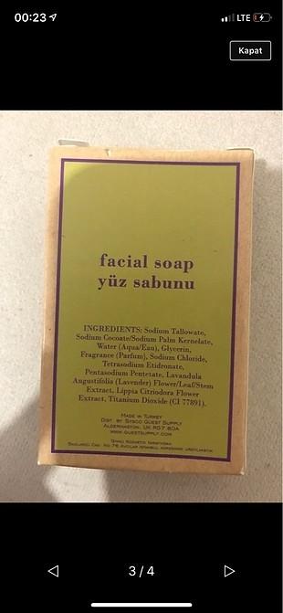 Yüz sabunu