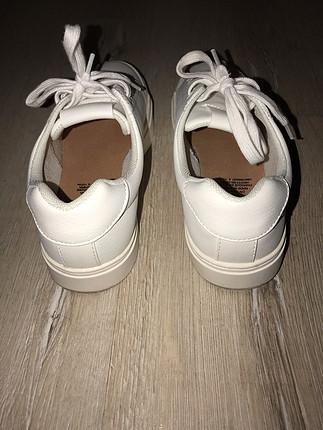 37 Beden H&M Beyaz Spor Ayakkabı