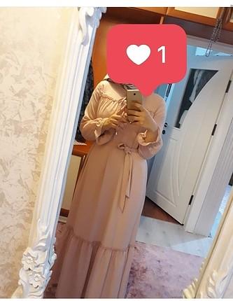40 beden tesettür bayan elbise