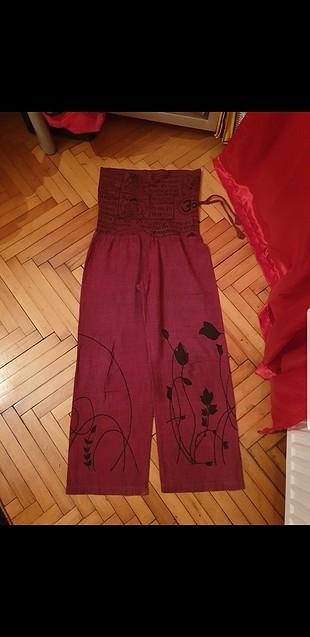 Yazlık Tiril Pantolon