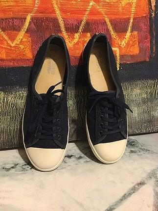 38 Beden lacivert Renk Lacoste spor ayakkabı