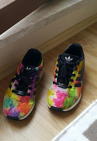 Renkli Adidas ZX FLUX