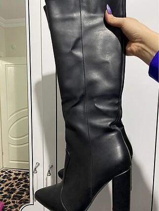 37 Beden siyah Renk Siyah Çizme