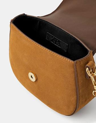 Zara marka çapraz askılı mini çanta