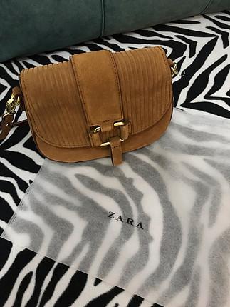 Zara Zara marka çapraz askılı mini çanta