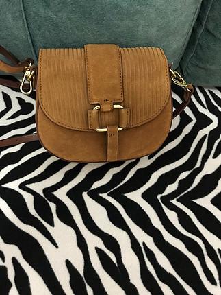 s Beden Zara marka çapraz askılı mini çanta
