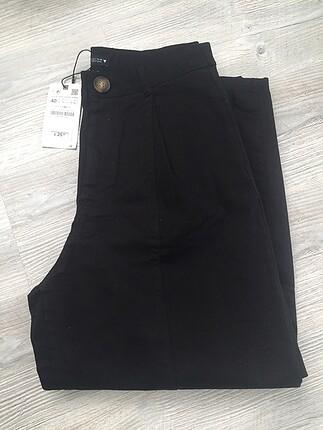 Zara siyah kot balon pantolon