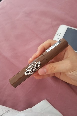gabrini eyebrow mascara ultra long lasting light brown