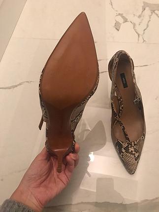 Mango 1-2 kere giyilmiş temiz ayakkabı