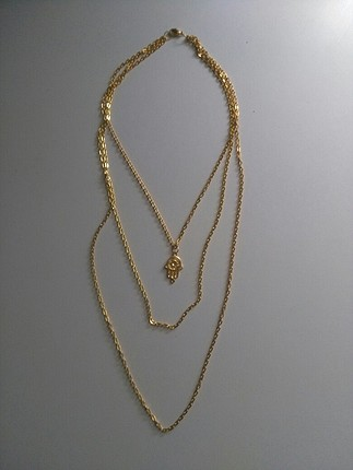 universal Beden altın sarısı zincir kolye