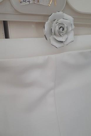 36 Beden beyaz pantolon