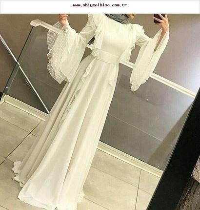 42 Beden beyaz elbise