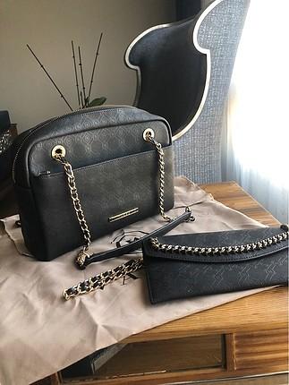 Vakko cüzdanlı çanta
