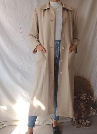 Vintage uzun ceket
