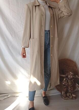 American Retro Vintage uzun ceket