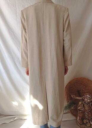 diğer Beden ten rengi Renk Vintage uzun ceket