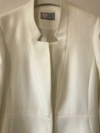 Zara Beyaz blazer ceket