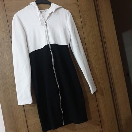 kapsonlu tunik elbise