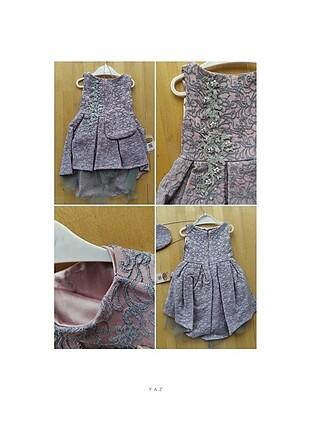 Abiye kız bebek elbise