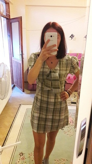 kısa kollu mini elbise