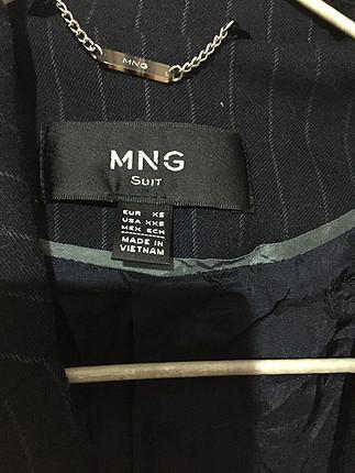 Mango Çizgili ceket