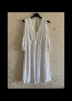 Koton beyaz elbise