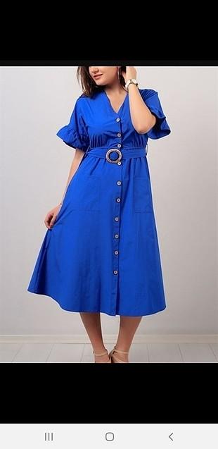 mavi elbisee