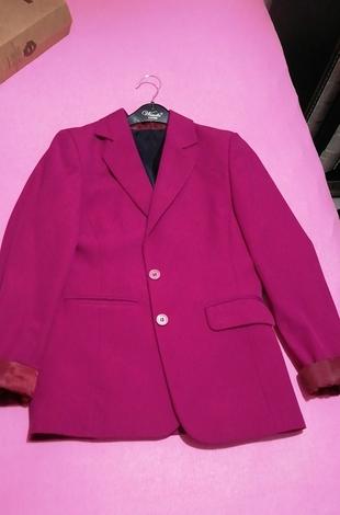 fuşya ceket