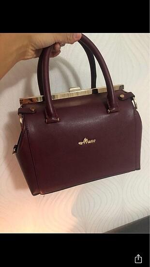 Bordo çanta