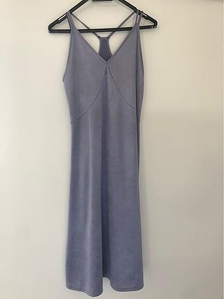 Zara small buz mavisi elbise