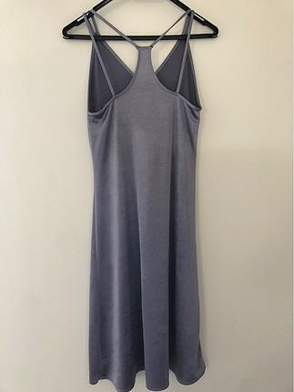 Zara Zara small buz mavisi elbise