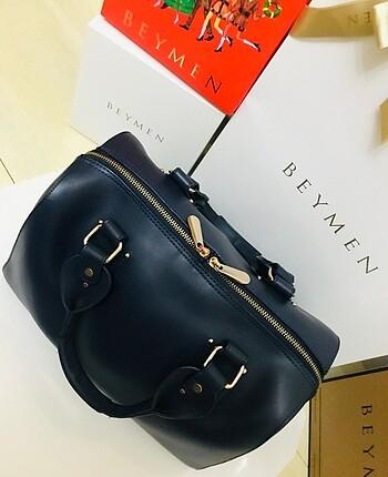 Hotiç Hotiç deri bavul model çanta
