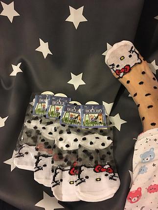 Hello kitty transparan çorap