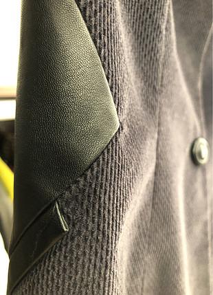36 Beden gri Renk Kadife ceket