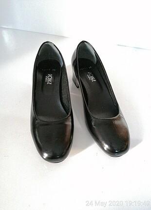 Yeni yüzde yüz deri ayakkabı