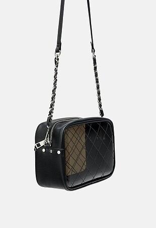 Zara vinil çanta
