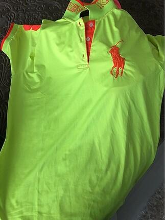 Orjınal Polo neon tişört