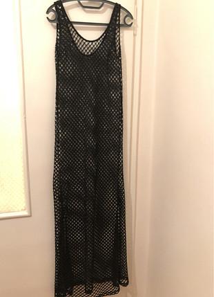 Plajlık pareo elbise