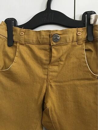 Hardal rengi pantolon