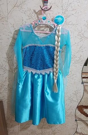 Elsa kostüm 3 yaş