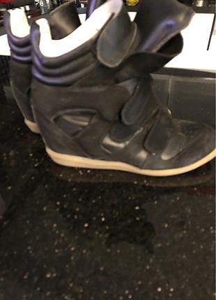 inci Siyah rahat ayakkabı