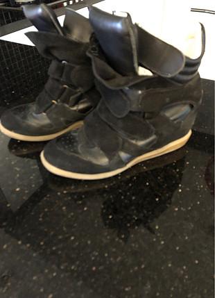 38 Beden Siyah rahat ayakkabı