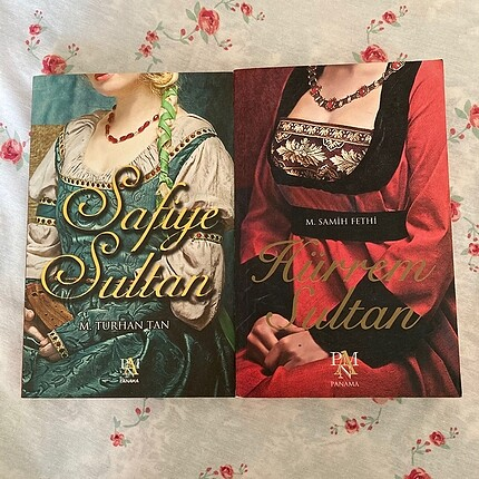 2'li Set (Hürrem Sultan Safiye Sultan)