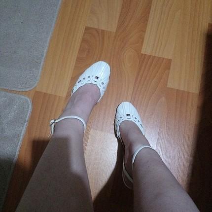 erbil süel beyaz gelin ayakkabısı