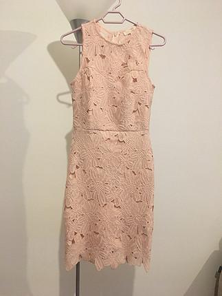 Koton güpürlü elbise